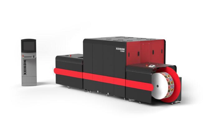 Xeikon introduces 7 colour label press