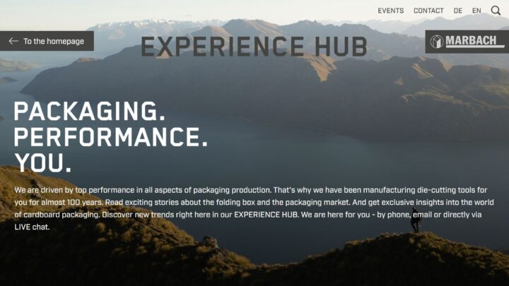 Experience Hub successfully launched