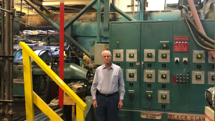 Plastic Coated Papers Installed Second Davis-Standard Extrusion Coating Line