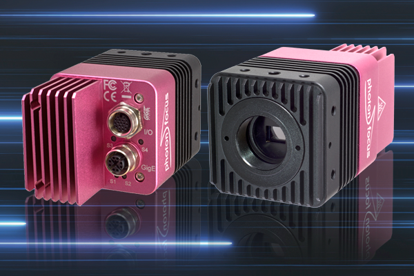 First global shutter CMOS UV camera on the market for machine vision applications