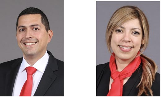 Kocher + Beck USA, L.P. Promotes Amin Silva Yedra and Jackie Barbour