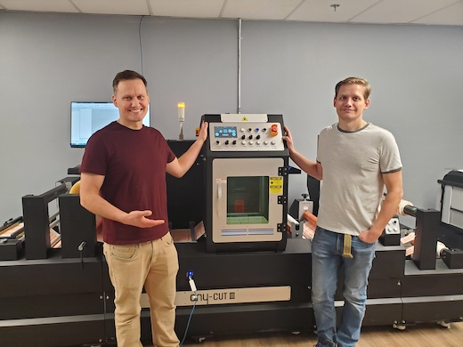 Pacific Innovations, LLC Installs Anycut III Laser Finisher