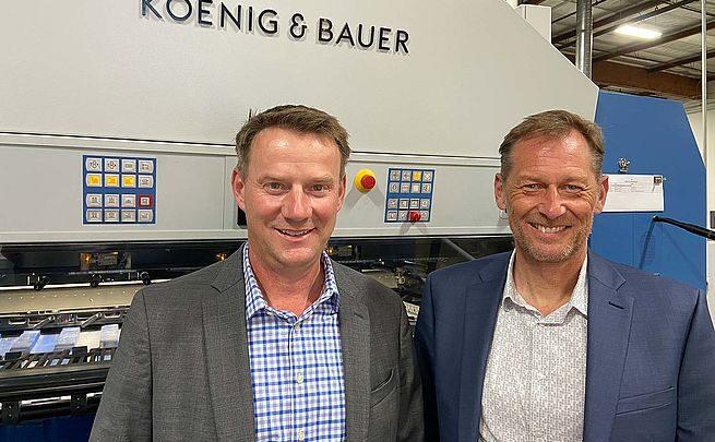Jurgen Gruber Adds Responsibilities as Koenig & Bauer's West Coast District Sales Territory