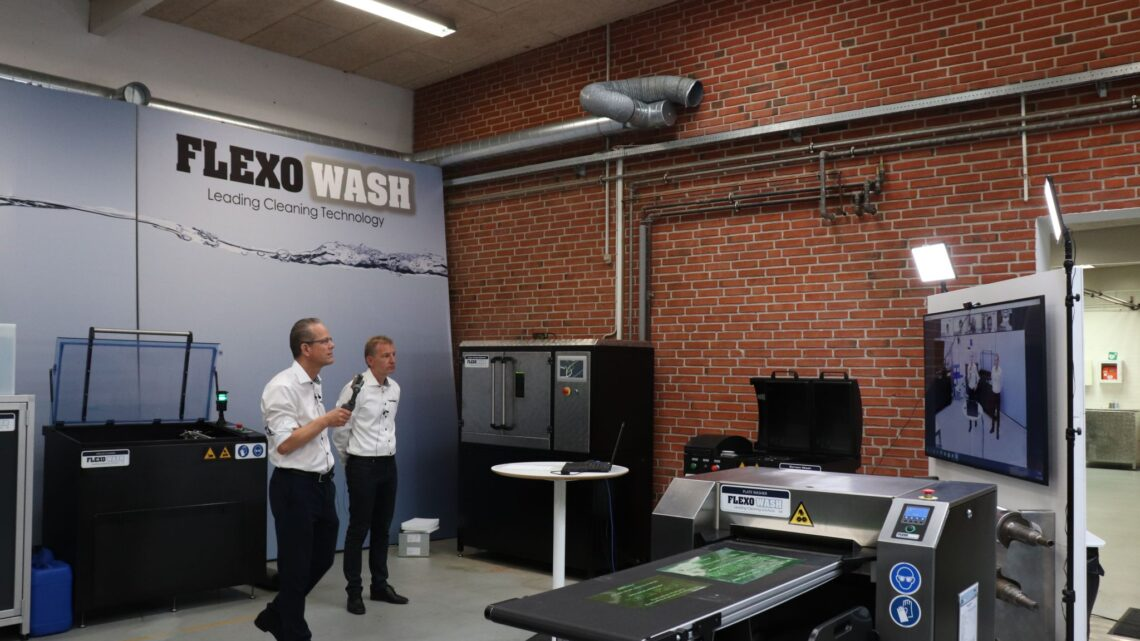 Flexo Wash Denmark Reports FW Narrow Web EXPO an Online Success in the Print Industry