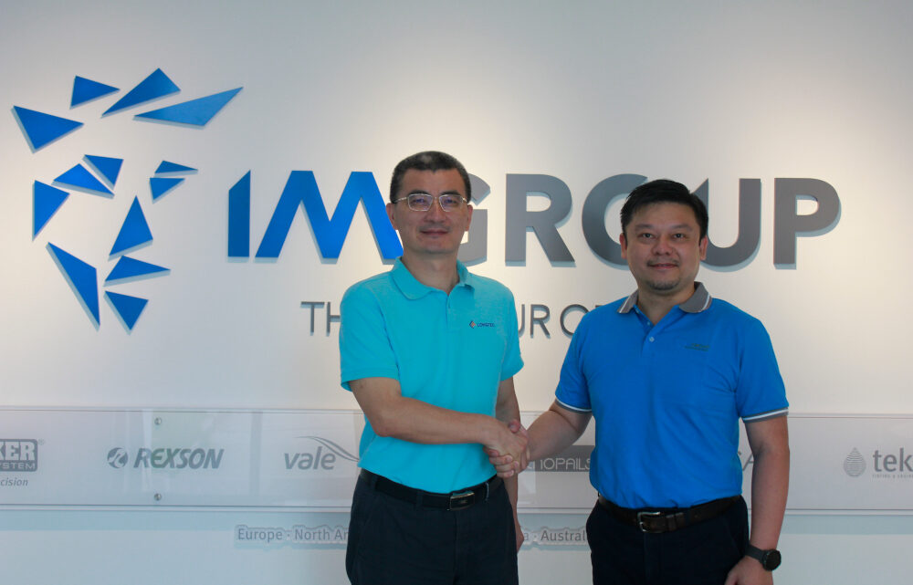 IM GROUP'S INKMAKER JOINT VENTURES WITH LONGTEC IN CHINA
