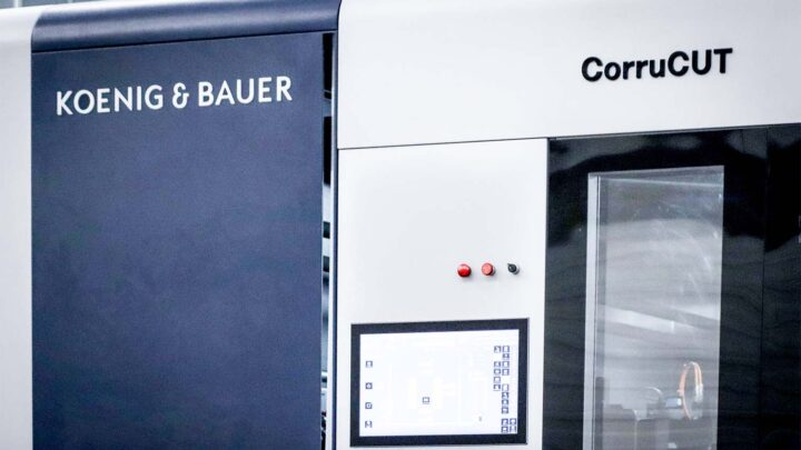 Rossmann Group invests in Koenig & Bauer CorruCUT