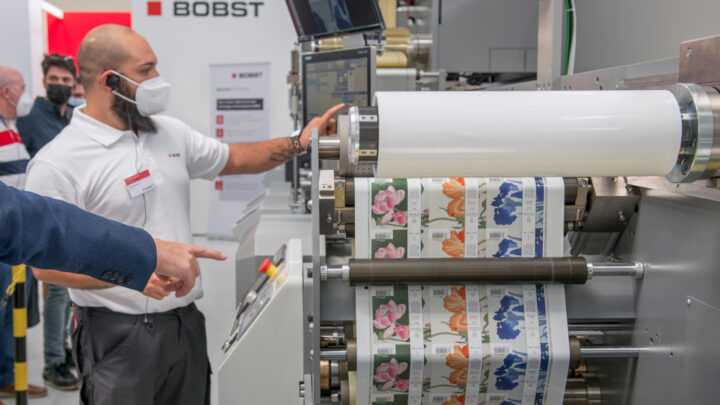 BOBST is shaping the future of label production