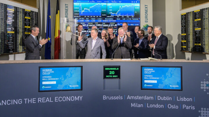 Hybrid Software Group Celebrates Name Change With The Euronext Bell Ceremony